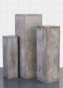 dekos ule grau beton sthetik f r au en. Black Bedroom Furniture Sets. Home Design Ideas