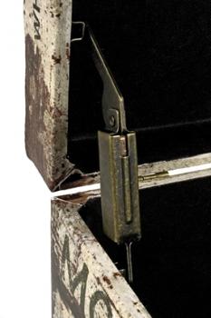 sitztruhe crate mit stauraum. Black Bedroom Furniture Sets. Home Design Ideas