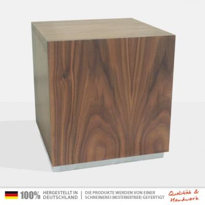 Universal sitzw rfel tischw rfel holzw rfel hocker for Couchtisch 40x40