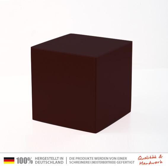 holzwuerfel schwarz 30 x 30 cm universal sitzw rfel tischw rfel holzw rfel hocker. Black Bedroom Furniture Sets. Home Design Ideas